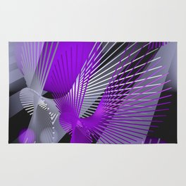 3D - abstraction -124- Rug