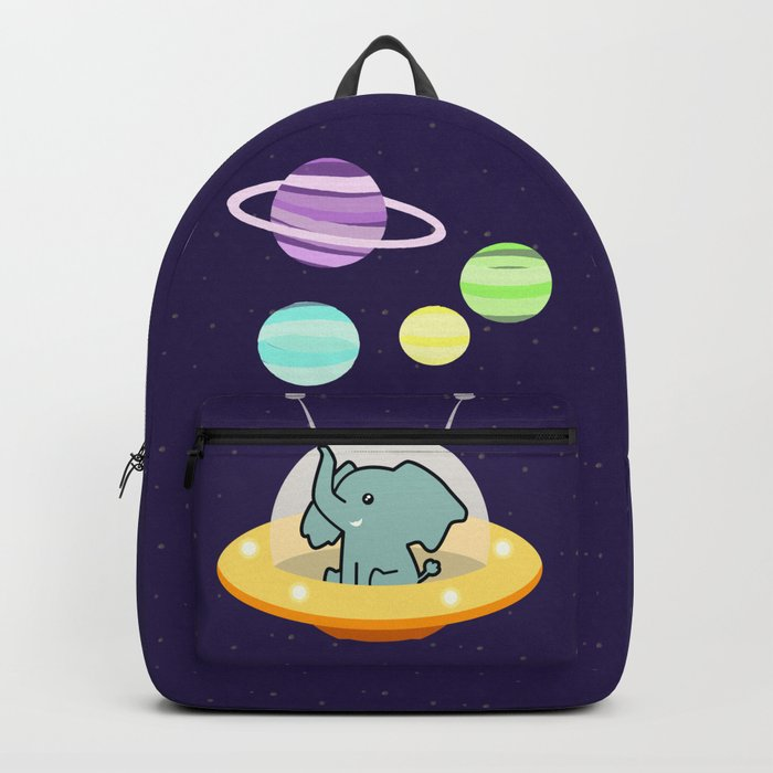 Astronaut elephant: Galaxy mission Backpack