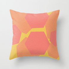 Hexa-Pattern Throw Pillow