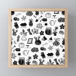 caudex mania ver.2 Framed Mini Art Print