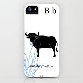 B/Buffalo iPhone Case