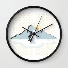 Adventure sunrise Wall Clock