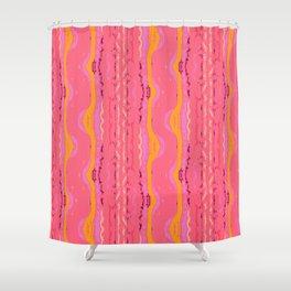 Eleuthera Waves Shower Curtain