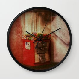 Happiness is Gumballs Wall Clock