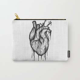 Bleeding Heart - A3 Ink illustration Carry-All Pouch