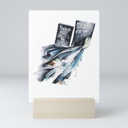 Fresh from the Fishmonger Mini Art Print