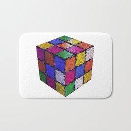 The color cube Bath Mat