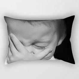 Baby Face Rectangular Pillow