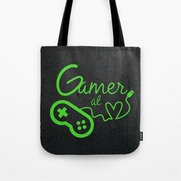 Gamer at Heart Tote Bag