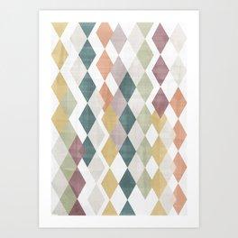 Rhombuses 2 Art Print