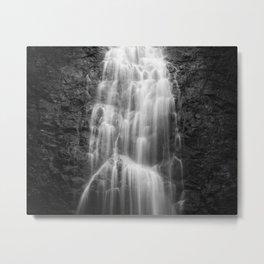 Waterfall in nature of  Costa Rica Metal Print