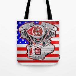 Fire Dept Tribute Tote Bag