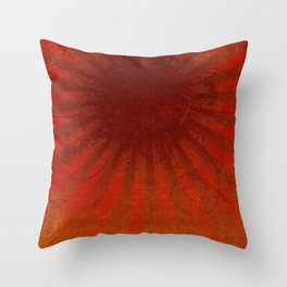 Dark Sun Throw Pillow