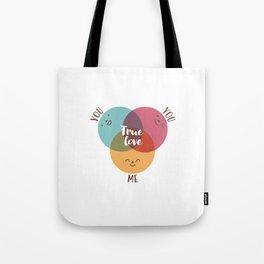 you+you+me Tote Bag
