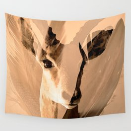 Beautiful and fast - Impala portrait Wall Tapestry