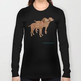 Vizslas by the Sea Long Sleeve T-shirt
