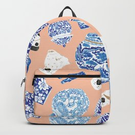 Chinoiserie Curiosity Cabinet Toss 1 Backpack