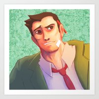 Detective Gumshoe Art Print
