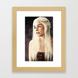 First of Her Name Framed Art Print