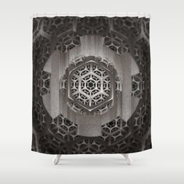 Cog Of The Machine Shower Curtain