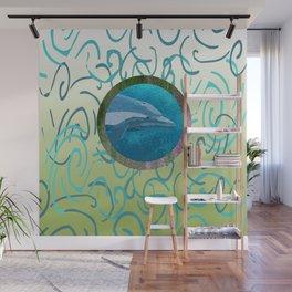 Dolphin Dreams Wall Mural