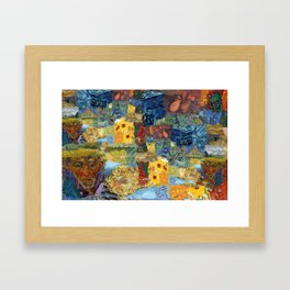 Vinny's World Framed Art Print