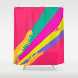crococolors Shower Curtain