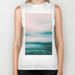 Ocean Romance #1 #abstract #decor #art #society6 Biker Tank