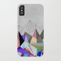 mountain iPhone & iPod Cases featuring Colorflash 3 by Mareike Böhmer