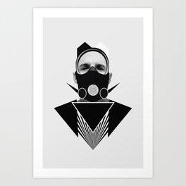Dark Homonyms X Art Print