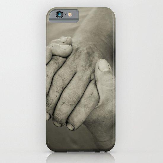 manos trabajadoras iPhone & iPod Case