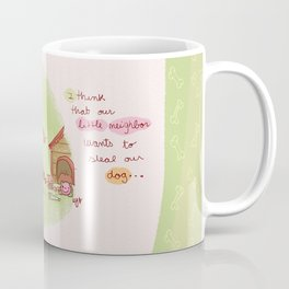 Little neighbor! Pets! Coffee Mug