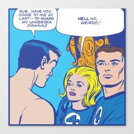 Submariner Gets No Love Canvas Print