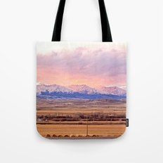 Those Crazy Mountains Tote Bag