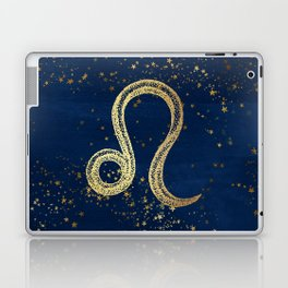 Leo Zodiac Sign Laptop & iPad Skin