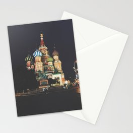Saint Basil's Cathedral Moscow Stationery Cards