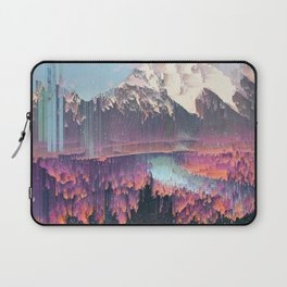 Glitched Landscapes Collection #2 Laptop Sleeve