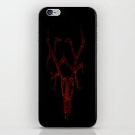 Wendigo Dark Red iPhone Skin