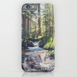 a mountain stream ... iPhone Case