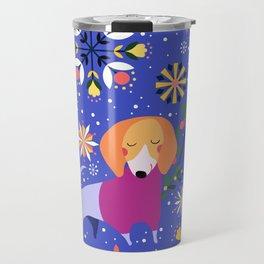 Happy Dog Year Travel Mug