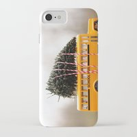 christmas tree iPhone & iPod Cases featuring Christmas Tree by Beverly LeFevre