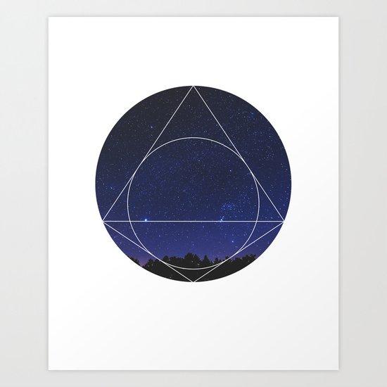 Magical Universe - Geometric Photographic Art Print