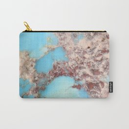 Rugged Turquoise Nugget Carry-All Pouch