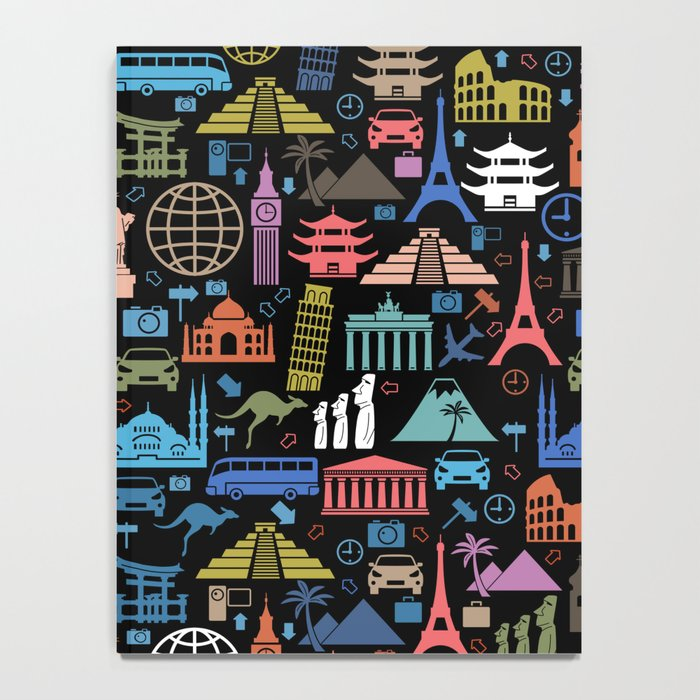 LET'S TRAVEL AROUND THE WORLD!!! Notebook