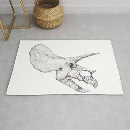Skull of a Dinosaur Rug