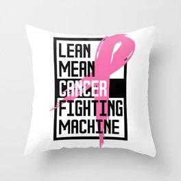 Breast Cancer Awareness Art For Warrior Women Light Throw Pillow