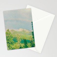 Mountain Rainbow Stationery Cards