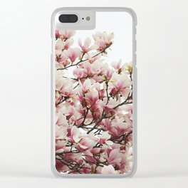 Magnolias II Clear iPhone Case