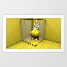 Lemon Shower Art Print