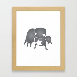 minima - slowbot 003 Framed Art Print